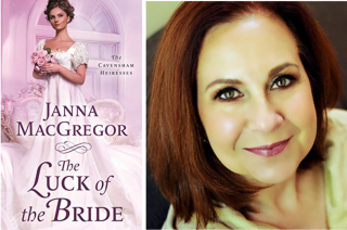 Janna MacGregor and Book